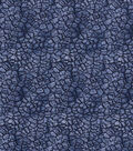 Premium Prints Cotton Fabric-Blue Dried Mud
