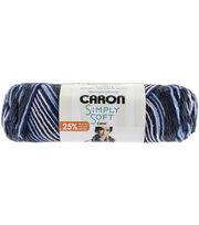 Caron Simply Soft Camo Yarn, , hi-res