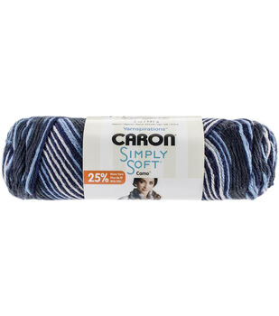 Caron Simply Soft Camo Yarn