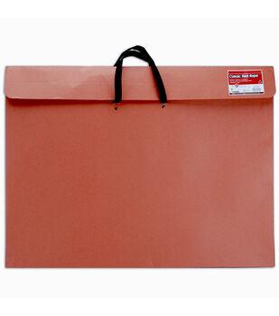 "Red Rope Paper Portfolio W/Soft Handle 23""x31""-Red"