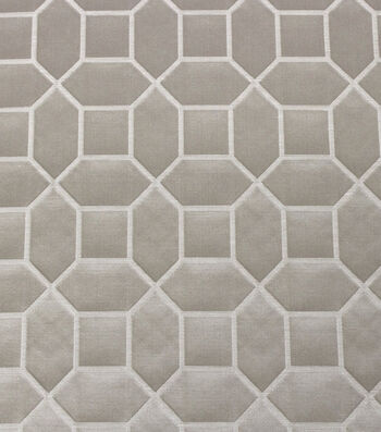 "Hudson 43 Lightweight Decor Fabric 55""-Snazzy Alabaster"