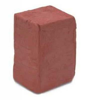 Mexican Self-Hardening Clay 5lb-Red