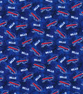 Buffalo Bills Flannel Fabric-Tie Dye