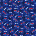 Buffalo Bills Flannel Fabric-Tie Dye