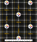 NFL Pittsburgh Steelers Plaid Flannel