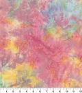 Batik Cotton Fabric-Pastel Tie-Dye