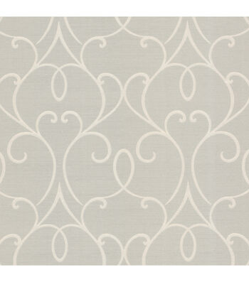 Mila Taupe Mini Classical Wallpaper