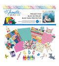 American Crafts Shimelle Box of Crayons 33-sheets 12\u0027\u0027x12\u0027\u0027 Project Pad