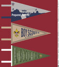 Boy Scout Felt Panel Fabric 44\u0022- Pennant