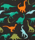 Doodles Juvenile Apparel Fabric 57\u0022-Dino Rock Interlock