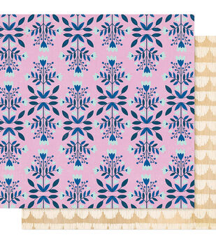 Maggie Holmes Willow Lane 12''x12'' Double-sided Cardstock-Flower Patch