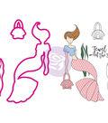 Julie Nutting Stamp & Die Set-Mermaid Kisses Cordelia Mermaid