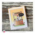 Avery Elle Clear Stamp Set 4\u0027\u0027X6\u0027\u0027-Market Stand