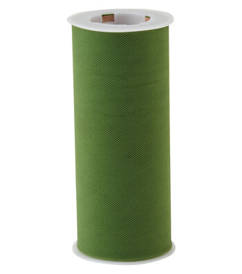 Matte Tulle Spool-Kale