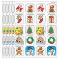 Teacher Created Resources Christmas Stickers, 120 Per Pack, 12 Packs