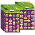 Cupcake Scented Stickers 12 Packs
