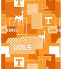 University of Tennessee Volunteers Cotton Fabric -Modern Block