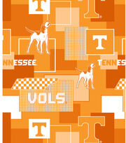University of Tennessee Volunteers Cotton Fabric 43''-Modern Block, , hi-res
