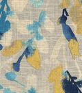 Waverly Multi-Purpose Decor Fabric 54\u0027\u0027-Indigo Leaf Storm