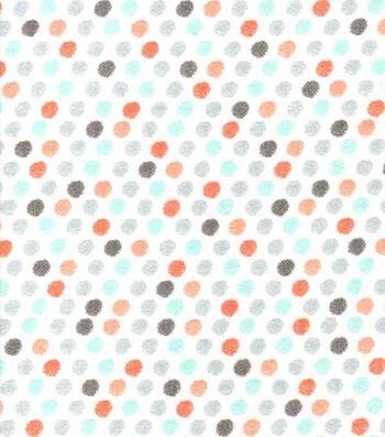 Nursery Flannel Fabric 42''-Woodland Mini Dots