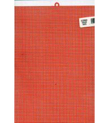 "Plastic Canvas 7 Count 10""X13""-Christmas Red"