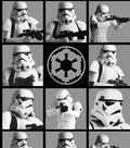 Star Wars Cotton Fabric 44\u0022-Stromtroopers