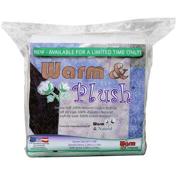 The Warm Company Warm & Plush Cotton Batting Queen