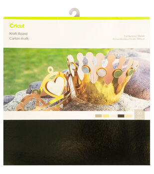 Cricut Kraft Board Foil Sampler-Metals