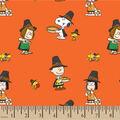Peanuts Cotton Fabric-Harvest