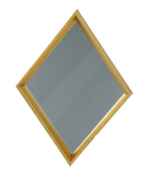 Save the Date 12.25''x16.5'' Mirror Frame-Gold