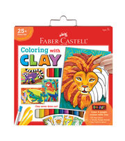 Faber-Castell Do Art Coloring with Clay-Jungle Animals, , hi-res