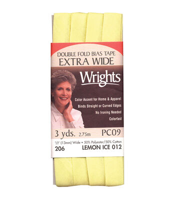 Wrights Extra Wide Double Fold Bias Tape