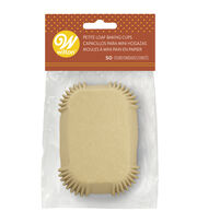 Wilton Petite Loaf Baking Cups-Kraft, , hi-res