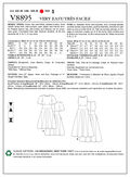 Mccall Pattern V8895 8-10-12-14-Vogue Pattern