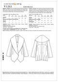 Mccall Pattern V1263 Zz (Lrg-Xl-Vogue Pattern