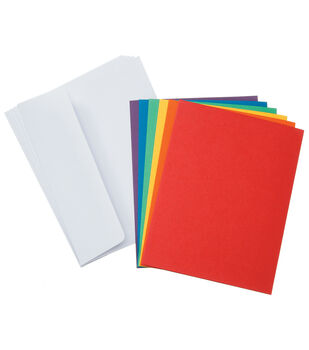 Coredinations Card Envelopes A2 Primary Assortment 50 Pack