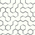York Wallcoverings Wallpaper-Black Open Geometric