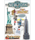 Paper House New York 3-D Stickers