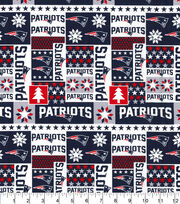 New England Patriots Cotton Fabric-Winter, , hi-res