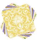 Cricut Anna Griffin 12 Pack 12\u0027\u0027x12\u0027\u0027 Deluxe Papers-Amelie Melange