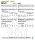 Butterick Pattern B6429 Adult & Children\u0027s Button-Up Tunic & Pants-Adult