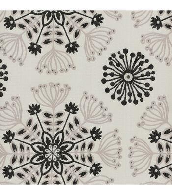 """Waverly Upholstery Fabric 56""""-Kaleidoscope Tuxedo"""