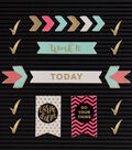 DCWV Home 18 Pack Letter Board Icons-Planning