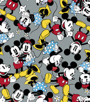 "Disney Mickey and Minnie Flannel Fabric 42""-Together, , hi-res"