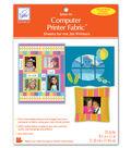 June Tailor Computer Printer Fabric 10/Pkg