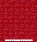 St. Louis Cardinals Knit Fabric 60\u0022-Foil Logo