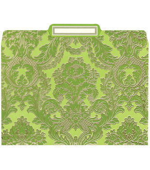 Anna Griffin Green File Folders