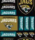 Jacksonville Jaguars Cotton Fabric -Logo Block