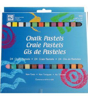 Loew-Cornell Chalk Pastels 24Pk