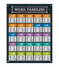 Carson-Dellosa Word Families Chart 6pk